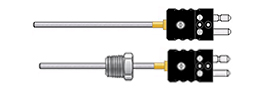 Rigid Mineral Insulated Thermocouples